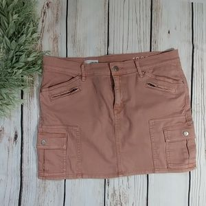 Gap dusty pink. DenimJean skirt size 10/30